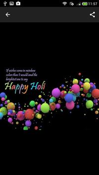 Holi 2019 Wishes and Messages apk screenshot
