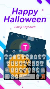 Happy Halloween Theme&Emoji Keyboard poster