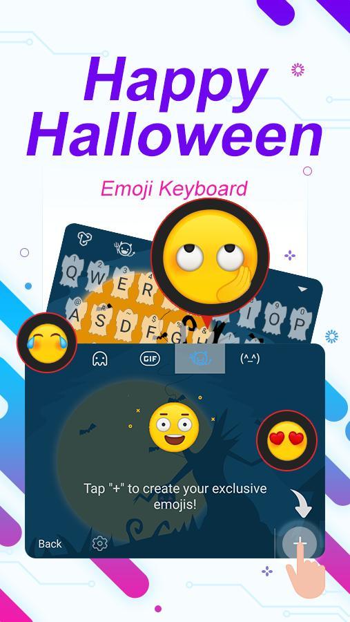 Halloween Emoji Text: Happy Halloween Theme&Emoji Keyboard For Android