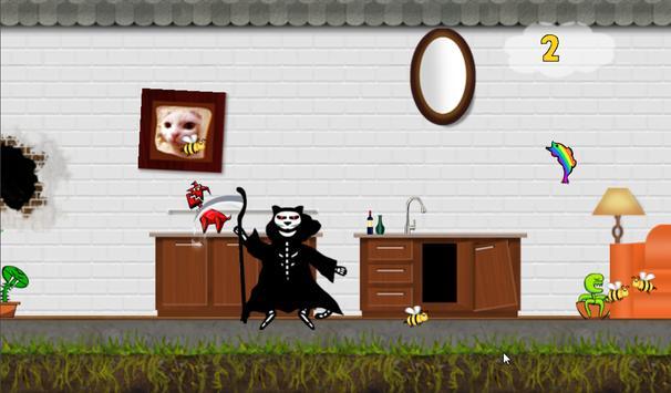 Catastrophe Cat, Ninja Runner screenshot 6