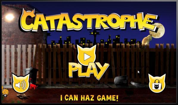 Catastrophe Cat, Ninja Runner apk screenshot