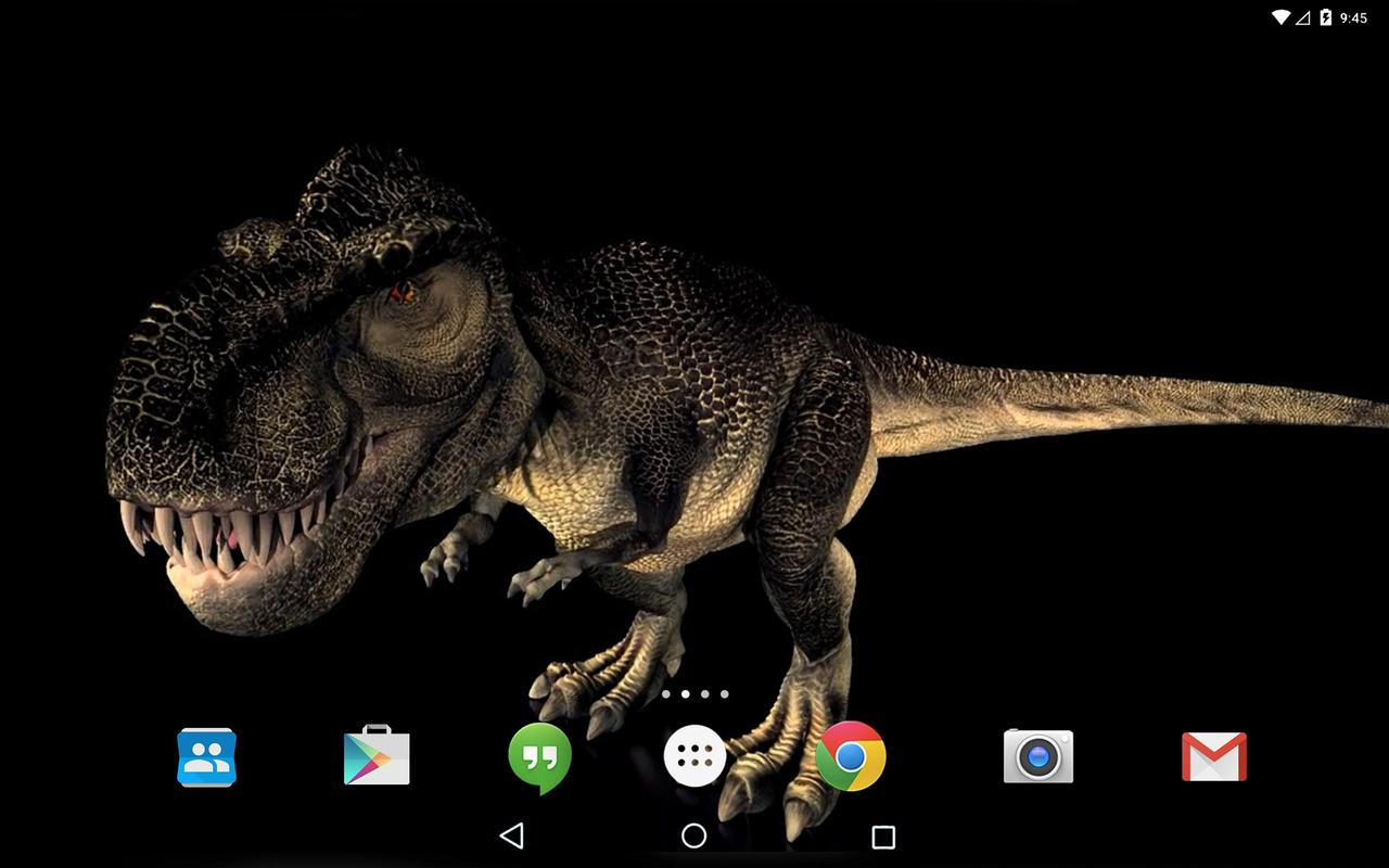 dino t-rex 3d live wallpaper apk डाउनलोड - एंडरॉयड