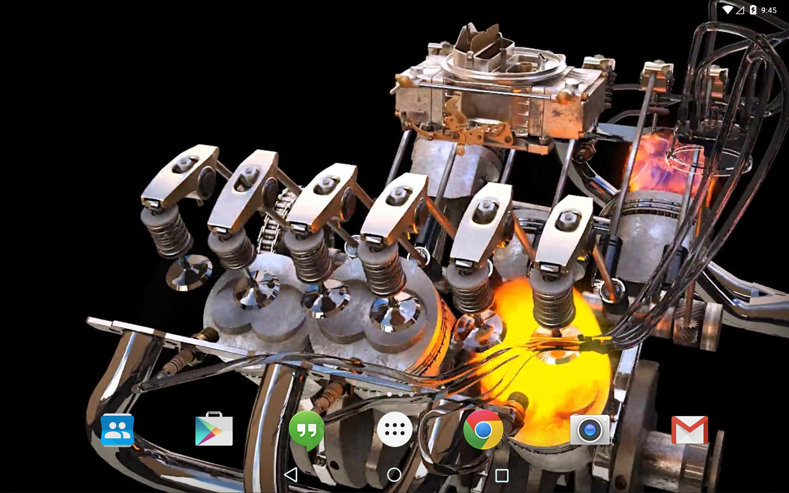 New 3D Engine Live Wallpaper For Android APK Download