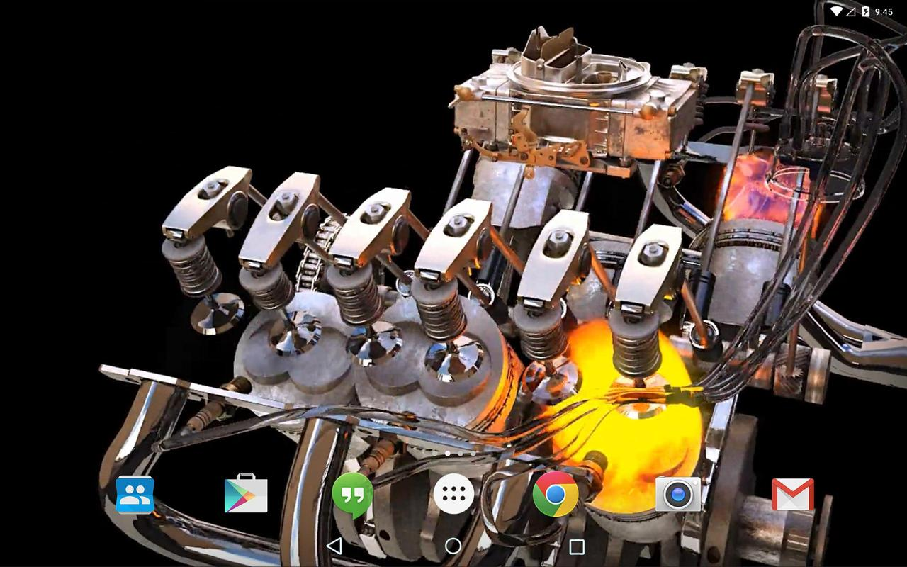 wallpaper android engine: New 3D Engine Live Wallpaper For Android
