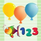 Belajar 123 + Suara icon