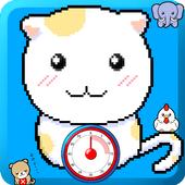 Kitchen Timer Dot Animal icon