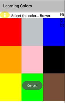 Learning Colors screenshot 1