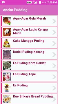 Aneka Menu Puding screenshot 1