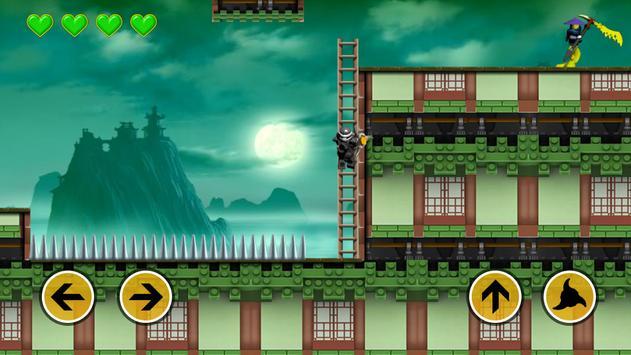 Ninja Shadow Warrior Go Run poster