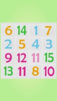 Number Puzzle 4x4 screenshot 1