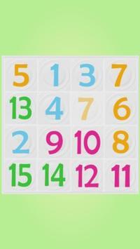 Number Puzzle 4x4 screenshot 2
