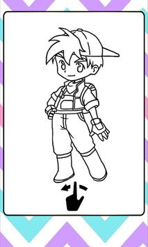 Harvest Moon Coloring Book poster