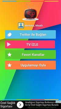 Canlı TV X apk screenshot