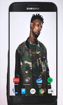 21 Savage Wallpapers HD Ekran Görüntüsü 1