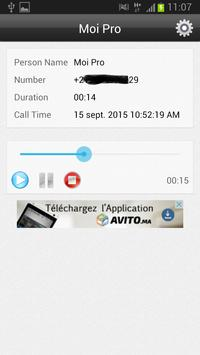 New Call Recorder free app apk screenshot