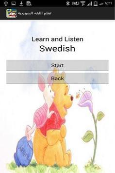 Learn Swedish apk screenshot