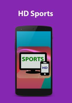 Hd Sports Live; Hot GHD Star Mobile Tv Advice screenshot 1