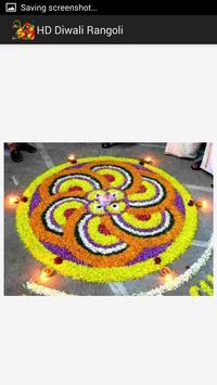 HD Diwali Rangoli Design screenshot 2