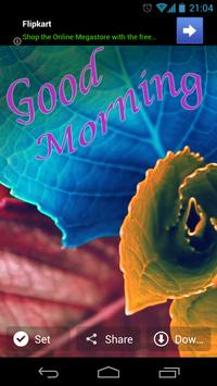 Good Morning Wishes WallPapers 2018 apk screenshot