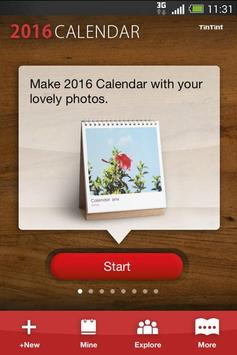 TinTint 2016 Calendar apk screenshot