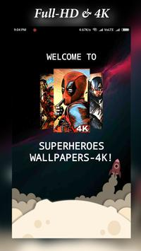 Superheroes Wallpapers | 4K Backgrounds स्क्रीनशॉट 7