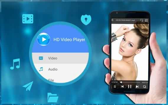4K HD Video Player for Android apk screenshot