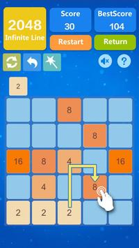 2048 Number Puzzle Games- Math Tricks Workout screenshot 14