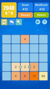 2048 Number Puzzle Games- Math Tricks Workout screenshot 16