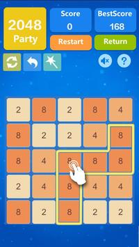 2048 Number Puzzle Games- Math Tricks Workout screenshot 1