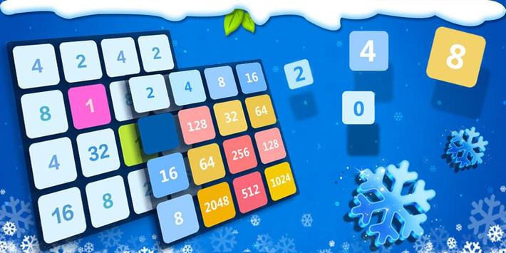2048 Number Puzzle Games- Math Tricks Workout screenshot 7