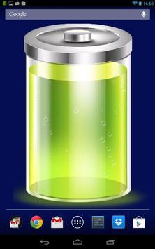 Battery wallpaper and widget screenshot 1