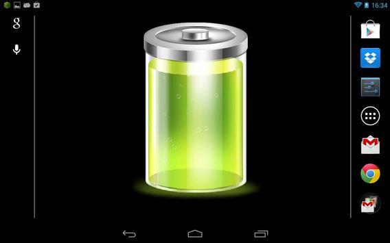 Battery wallpaper and widget apk screenshot