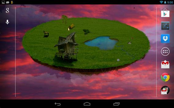 Flying island apk screenshot