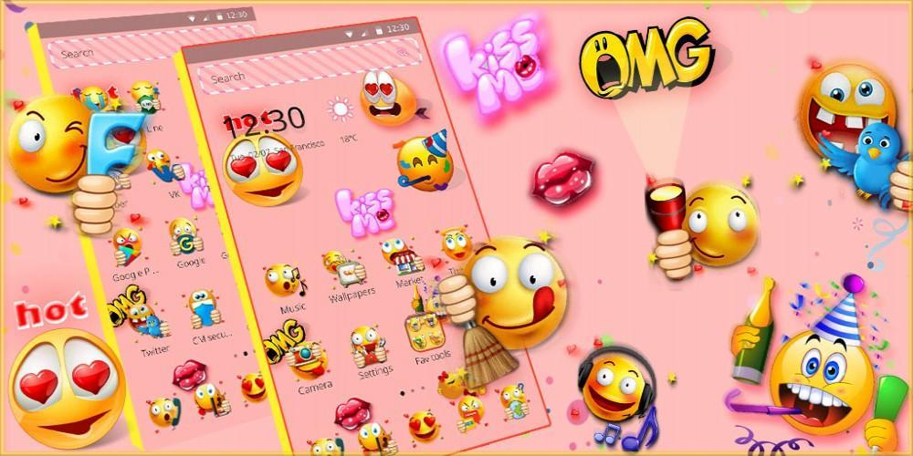 Emoji Wallpaper Theme For Android Apk Download