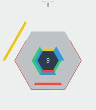 Hexagon Puzzle Game poster