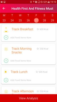 Health First - Food, Fitness, Weight Loss And Gain apk screenshot