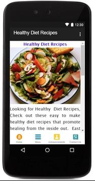 Healthy Diet Recipes poster