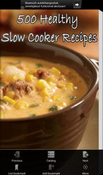 Healthy Slow Cooker Recipes poster
