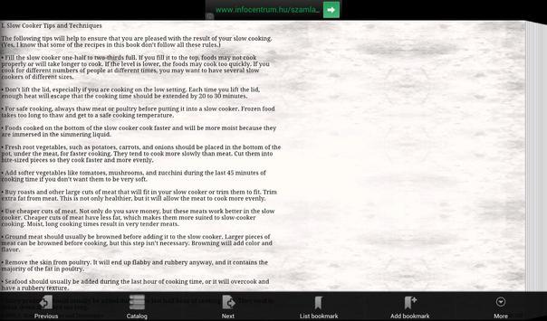 Healthy Slow Cooker Recipes apk screenshot