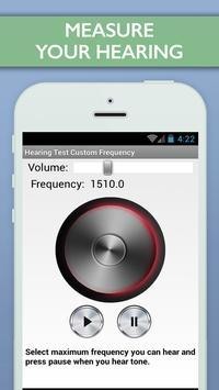 Hearing Test Custom Frequency screenshot 1