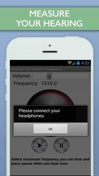 Hearing Test Custom Frequency apk screenshot