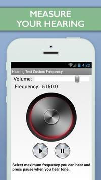 Hearing Test Custom Frequency screenshot 3