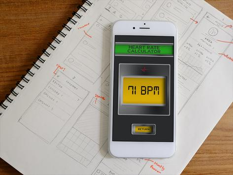 Pulse Heart Rate Checker Prank screenshot 3