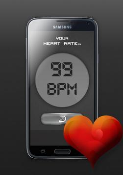 Heart Rate Beat Checker Prank apk screenshot