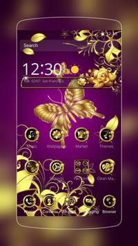 Heaven Golden Butterfly poster
