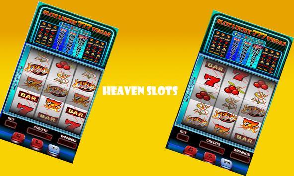 Heaven 777 Slots Huge Coins poster