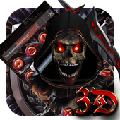 Blood Reaper 3D Skull Theme icon