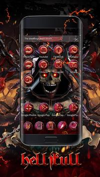 Blood Reaper 3D Skull Theme screenshot 2