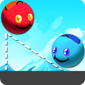 Balls Bumper - Draw Lines Game icon