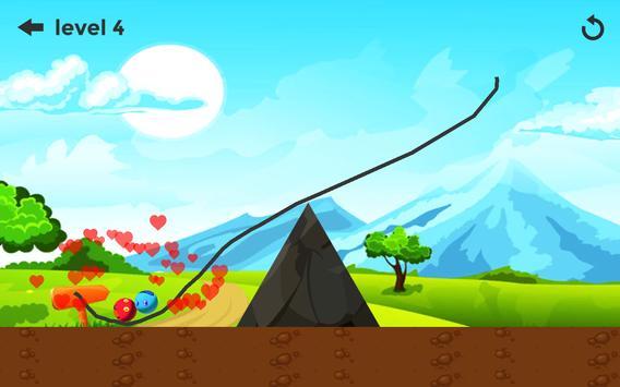 Balls Bumper - Draw Lines Game screenshot 2